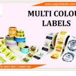 Multi Colour Barcode Labels
